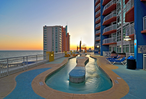 Sc Rooftop Lazy River Prince Resort In North Myrtle Beach