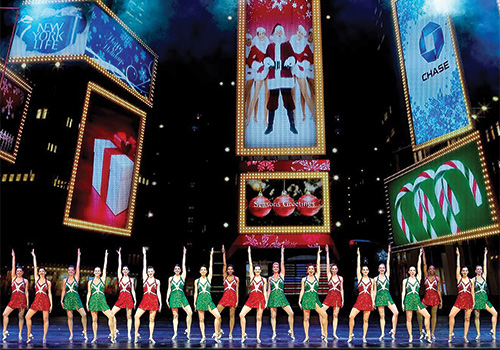... Radio City Christmas Spectacular in New York, New York. Back to Top