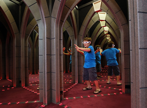 Ripley S Mirror Maze In Myrtle Beach South Carolina