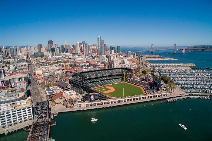 At T Park Ballpark Tour San Francisco Ca