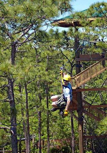 Zip Line Harness >> Screamin' Gator Zipline & Gatorland Park Admission ...