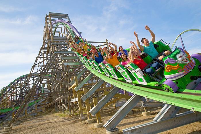 Ca The Joker Six Flags Discovery Kingdom In Vallejo