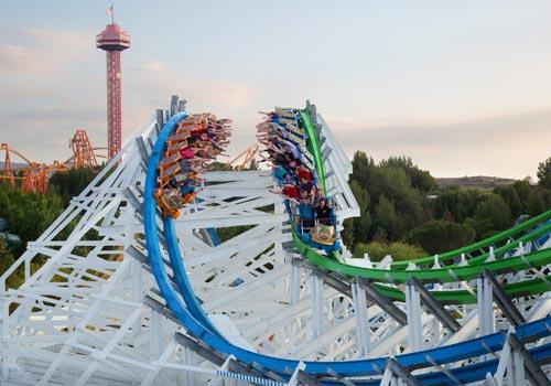 California Six Flags Magic Mountain In Valencia