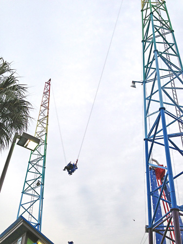Sling Shot Thrill Ride Myrtle Beach Sc