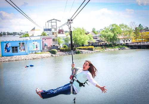 Soar Explore Zipline And Ropes Course In Myrtle Beach South Carolina