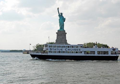Boarding Ellis Island Ferry