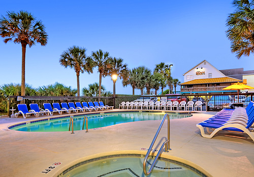 Outdoor Pool At The Surfside Beach Resort