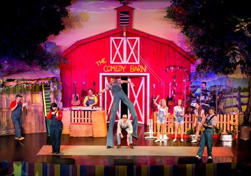 The Comedy Barn Christmas Show Pigeon Forge Tn