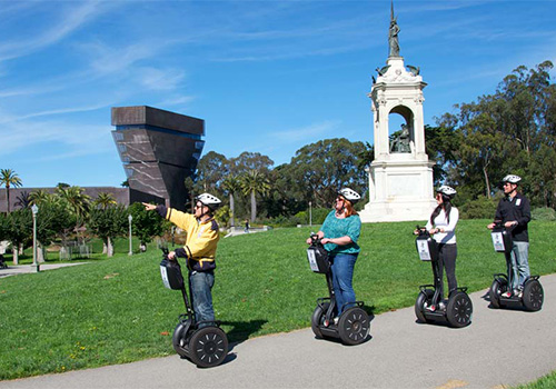The Official Golden Gate Park Segway Tour San Francisco Ca