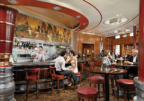 California Observation Bar The Queen Mary In Long Beach