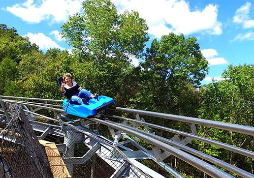 The Runaway Mountain Coaster Branson Mountain Adventure Park