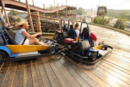 Missouri Wooden Track At Family Fun Parks 3 In Branson