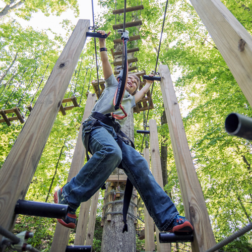 Adventure Park Tree Tops Ropes Course Sevierville Tn