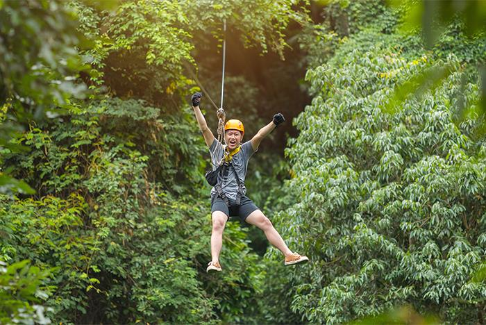 Zipline Canopy Tour At The Shepherd Of The Hills Branson Mo