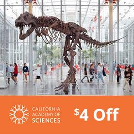 California Academy of Sciences in San Francisco, California