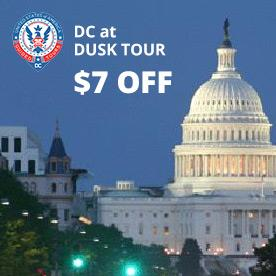 DC at Dusk Tour in Washington, District of Columbia