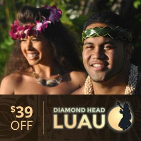 Diamond Head Luau in Honolulu, Hawaii