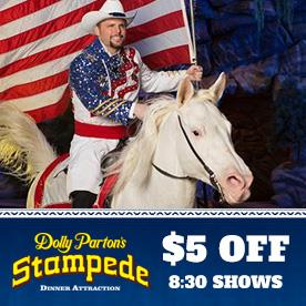 Dolly Parton's Stampede Dinner Attraction in Pigeon Forge, Tennessee