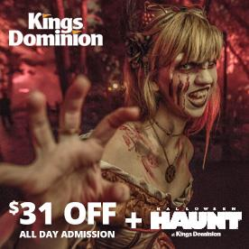 Kings Dominion in Doswell, Virginia