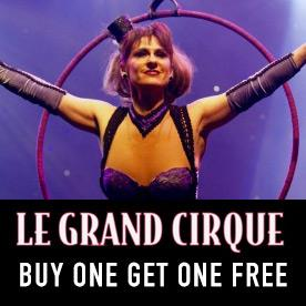 Le Grand Cirque in Myrtle Beach, South Carolina