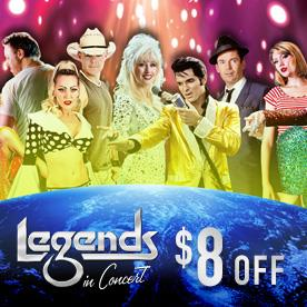 Legends In Concert in Myrtle Beach, South Carolina