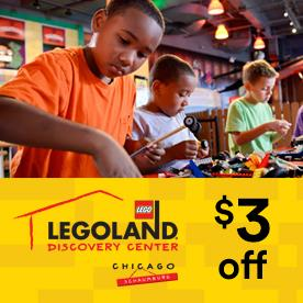 LEGOLAND® Discovery Center Chicago in Schaumburg , Illinois