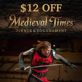 Medieval Times Dinner Tournament, Myrtle Beach