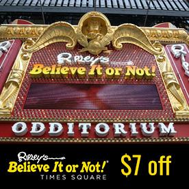 Ripley's Believe It or Not! Times Square in New York, New York