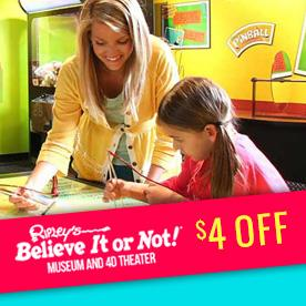 Ripley's Believe It or Not! Museum & 4D Theater in Williamsburg, Virginia