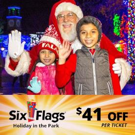 Six Flags America in Bowie, Maryland
