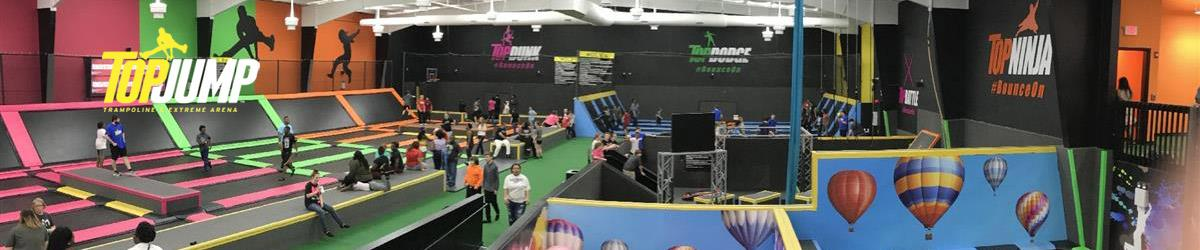 TopJump Trampoline & Extreme Arena in Pigeon Forge, Tennessee
