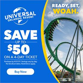 cheap tickets universal florida