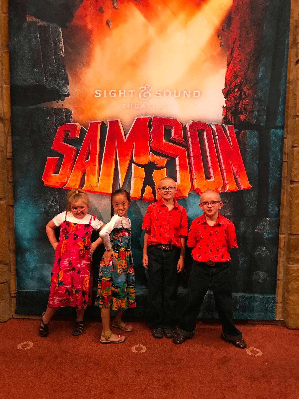 Samson At Sight Amp Sound Theatres Branson Mo