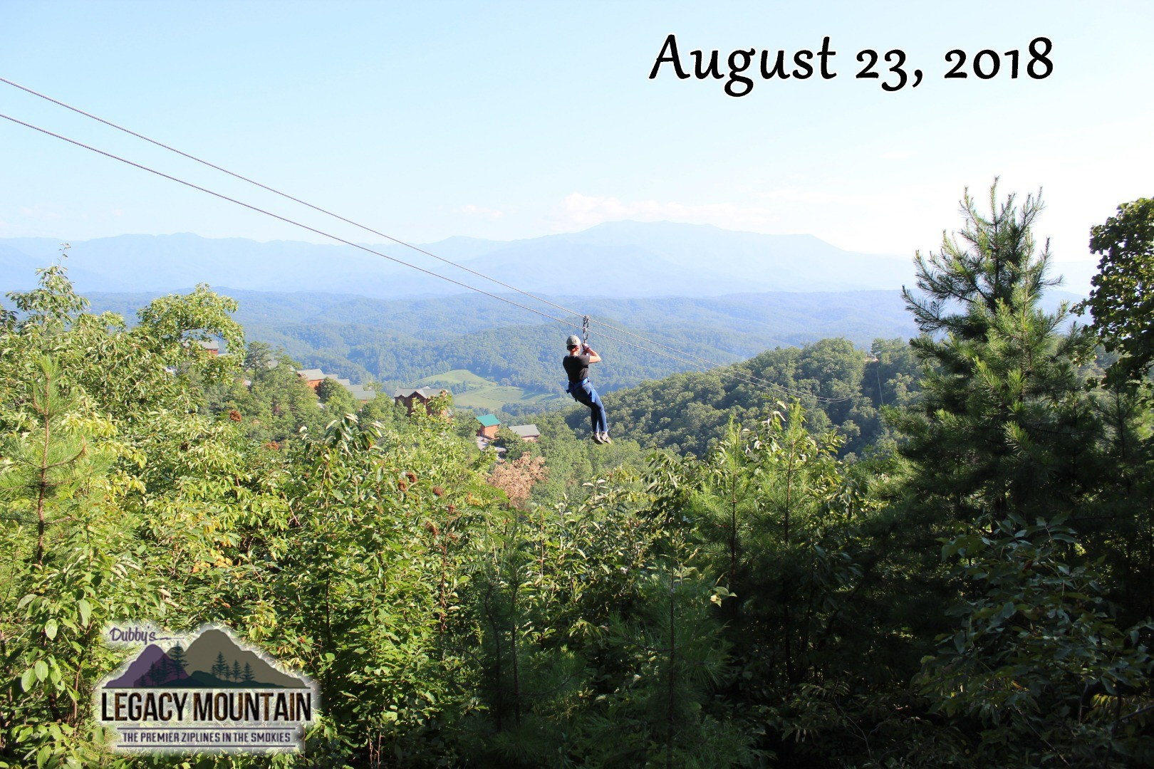 legacy mountain zip lines - sevierville, tn