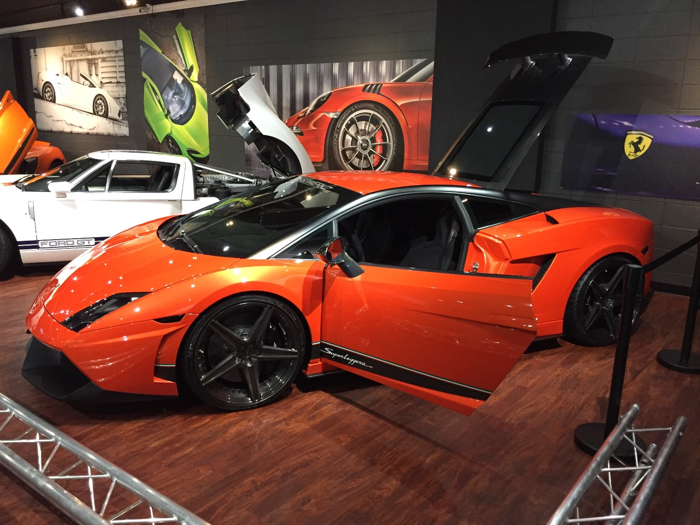 Speedwerkz Exotic Car Museum Pigeon Forge TN - Gatlinburg car show