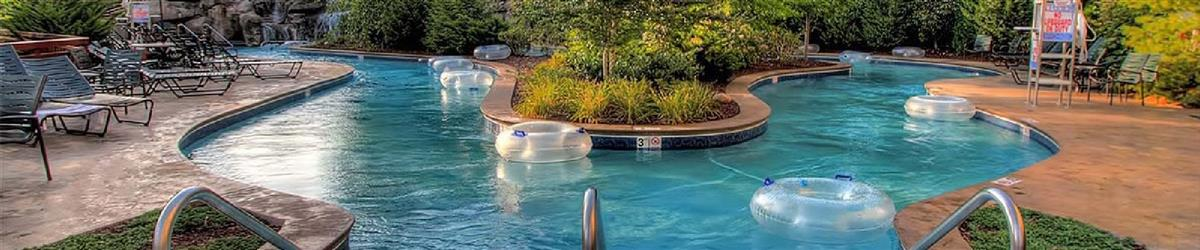 Pigeon Forge Hotels with Lazy Rivers
